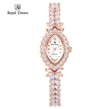 Royal Crown Women's Watch Mother-of-pearl Japan Movt Hours Fine Fashion