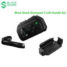 Original preto tubarão gamepad 3 esquerda adicionar titular & estender jogo controlador gamepad joystick para iphone para tubarão preto 2 3 pro para mi