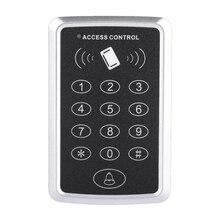 T119 125 кГц контроль доступа к двери, rfid-считыватель, клавиатура контроля доступа, цифровая панель, считыватель карт, система домашней безопасности, дверной замок