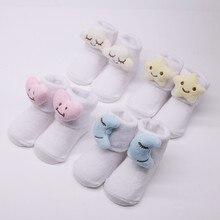 Lovely Baby Boys Girls Infant Winter Cartoon Cotton Socks Warm Anti Slip Floor Socks 2021