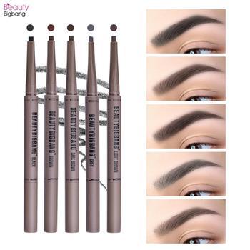 BEAUTYBIGBANG Eyebrow Pencil Toothbrush Head Eye Makeup Durable Waterproof Paint Tattoo Eye Brow Pen Long Lasting Make Up Tool