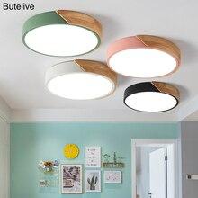 Ультратонкие светодиодные потолочные светильники для гостиной, 5 см, с регулируемой яркостью, современный потолочный светильник, скандинавский потолочный светильник для спальни, детской комнаты