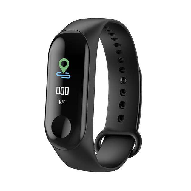 M3 Smart Watch Heart Rate Monitor Fitness Tracker Pressure Pedomater Bracelet Smartwatch Color Screen Blood Sport Wristband Mens