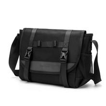 2019 New Casual Shoulder Bag Men waterproof Messenger Bag for Male High Quality Zipper Nylon Travel Business Crossbody Bags недорого