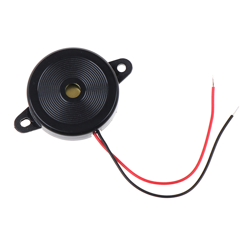 Useful  Durable 12-30Vp-p Square WavePiezo Electronic Buzzer Alarm 80DB Continuous Sound Beeper For Arduino Car Van