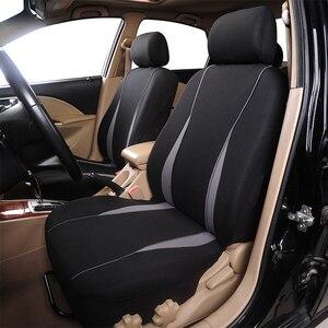 Чехлы AUTOYOUTH на сиденья автомобиля, аксессуары для интерьера, подушка безопасности, совместимая крышка сиденья для Toyota Camry Volkswagen, серая защит...