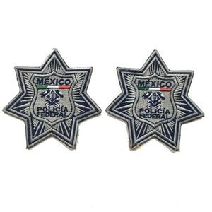 Image 3 - Quân Sự Miếng Dán Mexico Cảnh Sát Thêu Huy Hiệu Hãng Sản Xuất Sắt Trên Lưng 3.0 Inch Chiều Cao Có Thể Làm Như Bạn Logo