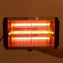 1000W araba boyası kurutma kurutma lambası araba vücut kızılötesi boya lambası el halojen ısıtıcı işık kısa dalga kızılötesi lamba