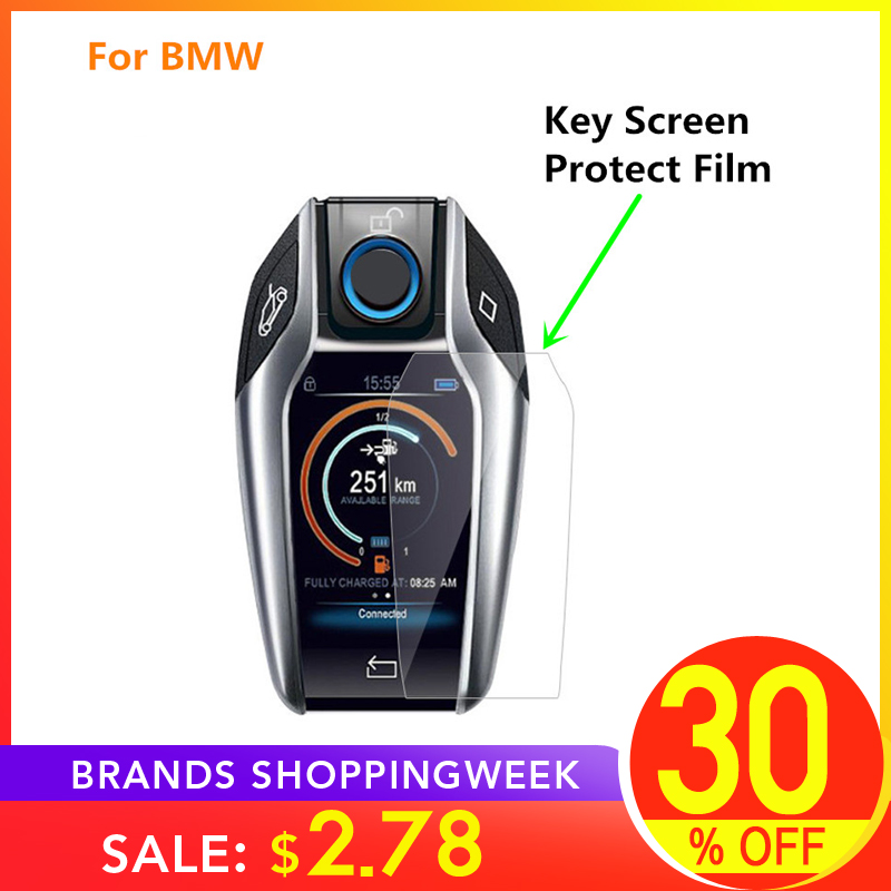 Protective-Film Touchscreen Display-Key BMW Anti-Scratch For X3x4/X5/I8/..