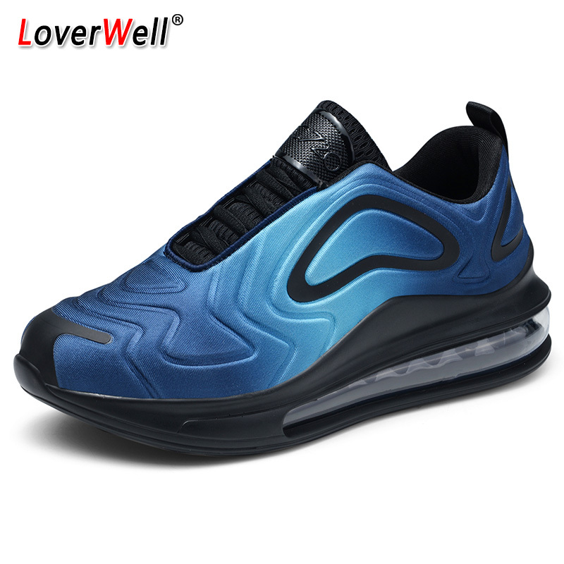 Autumn Mens Running Shoes Air Cushion Sports Shoes Comfortable Athletic Trainers Sneakers Outdoor Walking Shoes Plus Size 46 47