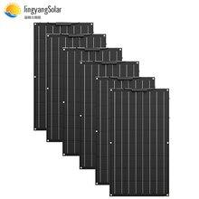 Monocrystalline Cell Battery-Charger Solar-Panel Flexible 100w Car-Rv-Boat ETFE 24V 12V