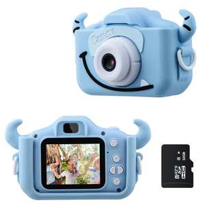 Kids Camera Children Video-Game Color-Screen 1080P HD with 32g-Card Dual-Selfie Gifts