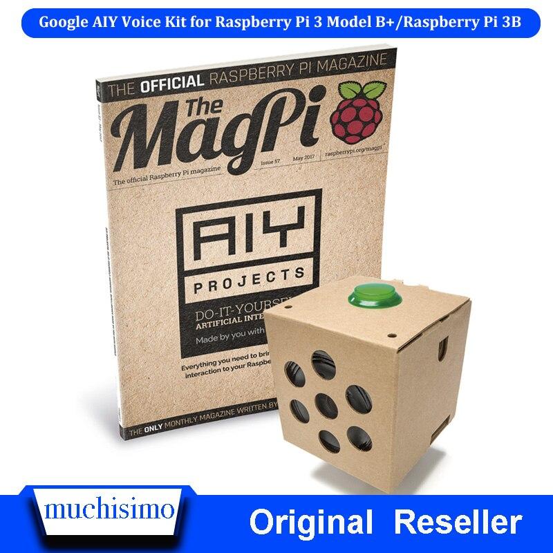 Google AIY Voice Kit For Raspberry Pi 3 Model B+(plus)/Raspberry Pi 3B And Raspberry Pi 2 Pi Zero