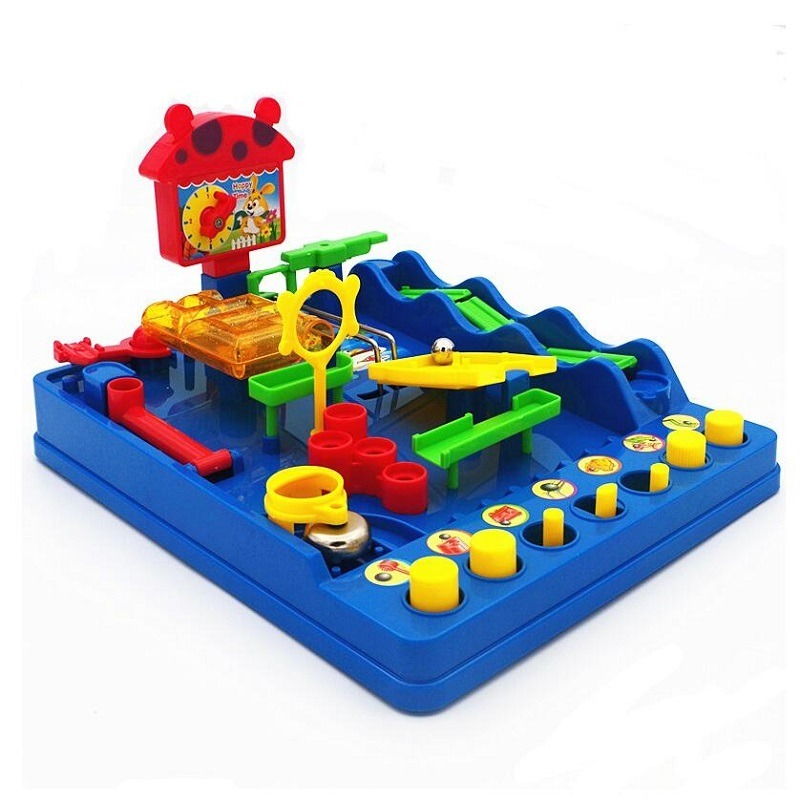 2019 New Water Park Beckham Adventures Adult Board Games Intelligence Knows Maze Love Children's Educational Toys
