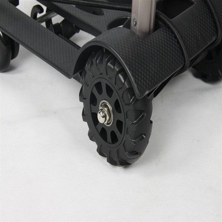 Les fabricants fournissent directement le chariot à bagages en alliage d'aluminium dans le chariot à bagages de camion
