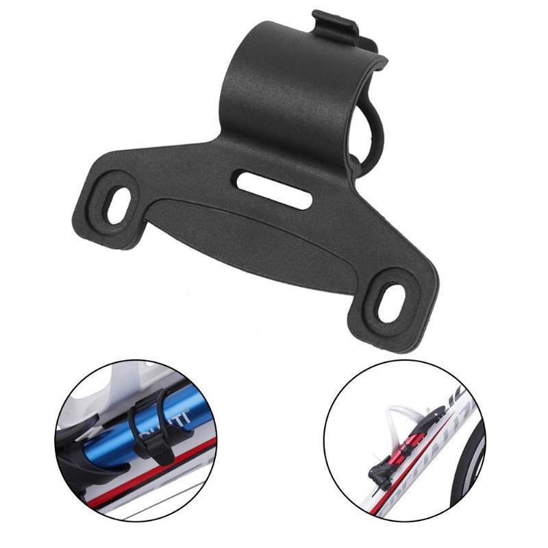 Mount Bracket Double Mouth Portable Bike Easy Install Cycling Bicycle Pump Holder Retaining Inflator Frame Nylon Fixing Clip