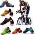 Radfahren Schuhe Mtb Rennrad Männer Turnschuhe Frauen Mountainbike Schuhe Non Locking Freizeit Sportlich Fahrrad Schuhe-in Fahrradschuhe aus Sport und Unterhaltung bei