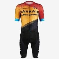 Le col equipe bahrain mclaren 2020 ciclismo skinsuit triathlon masculino um pedaço bodysuit verão trisuit bicicleta ciclismo uniforme|Kits ciclismo| |  -