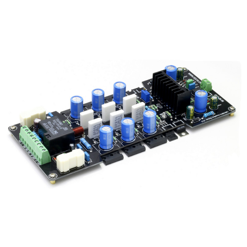 SOTAMIA LME49810 300W Mono Amplifier Board DC Servo Sound Amplifier With 2SA1943 2SC5200 Transistor UPC1237 Speaker Protection
