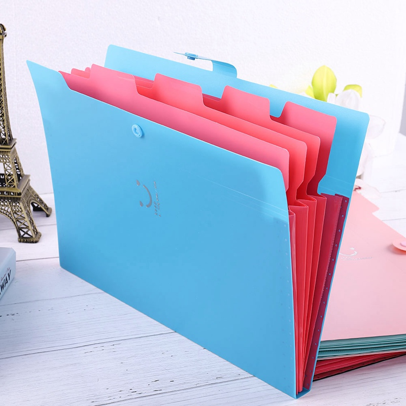 Pockets Document Bag File Folder Expanding Wallet Cells Portable Organ Bag A4 Organizer Paper Holder Office School Supplies