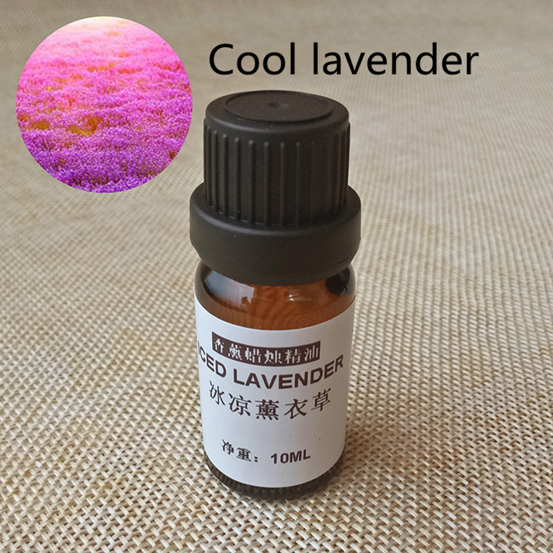 10ML Candel Accessories Oil Lavender Natural Oily Cosmetics Candle Flavor Soy Wax Paraffin Coconut Wax Making DIY Flavor Raw