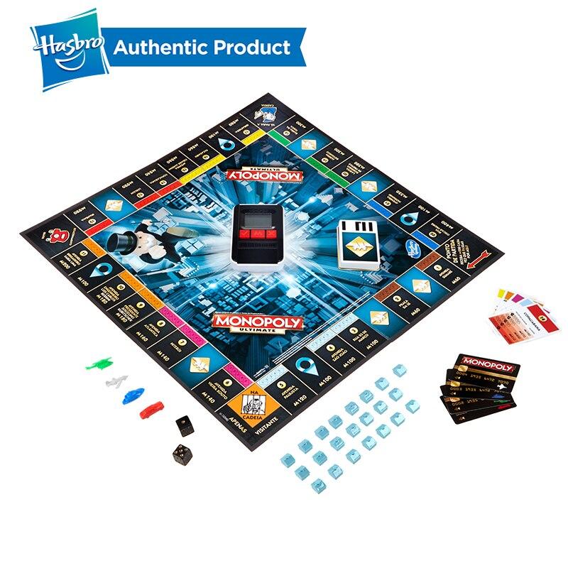Hasbro el juego de Monopoly electrónico para adultos, juegos familiares, junto con los Fans populares de la banca electrónica, actualización de la versión china - 3