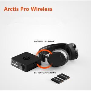 Image 4 - SteelSeries سماعة ألعاب لاسلكية Arctis Pro ، بلوتوث ، دقة عالية ، PS4 والكمبيوتر الشخصي