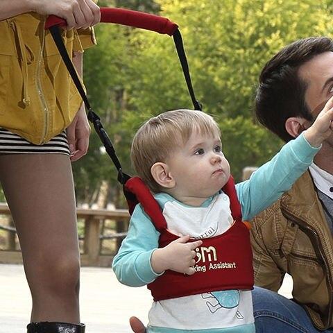 Детские дышащие двойного назначения для ребенка ясельного возраста с корзиной Тип для ребенка ясельного возраста с во время изучения ходьб...