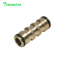 Brass 16mm Straight Quick Connector 1/2inch Coupling Tap Adapter Garden Irrigation Watering Water Gun Pipe repair Joint