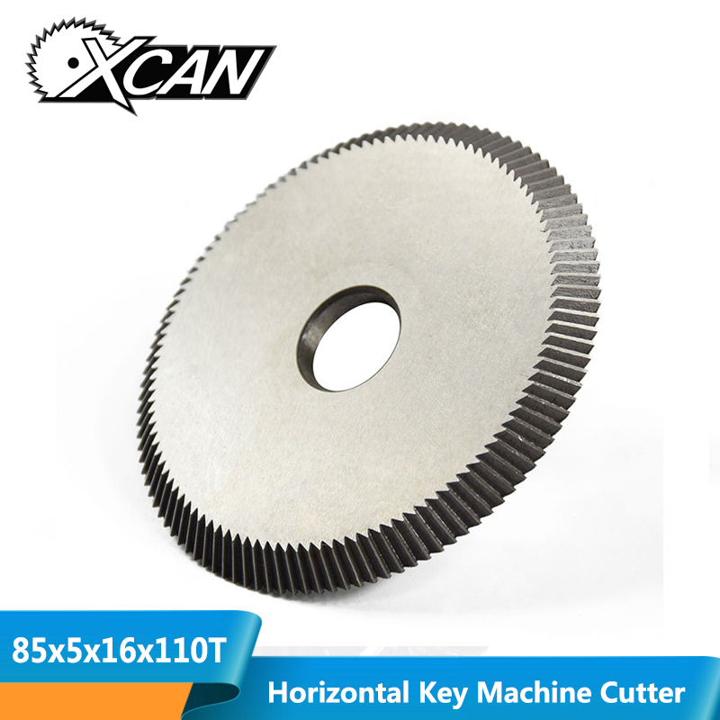 XCAN 1pc Key Cutting Machine Blade 80x5x16mm 110T Key Machine Cutter Key Machine Spare Parts Locksmith Tools Circular Saw Blade