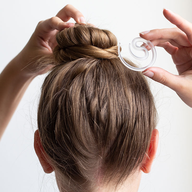 New Product Invisibobble Comfortable And Seamless Hair Styling Hair Clips Ball Head Plate Hair 2 In