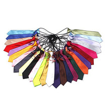 Tie Cravat Neckties Color-Accessories Wedding-Party-Gift Fashion Kid Classic Solid AD148