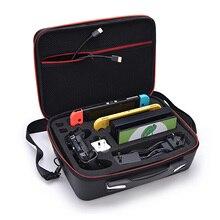 Bevigac mallette de voyage Portable rangement sac de messager organisateur avec bandoulière pour Nintendo Switch Lite accessoires