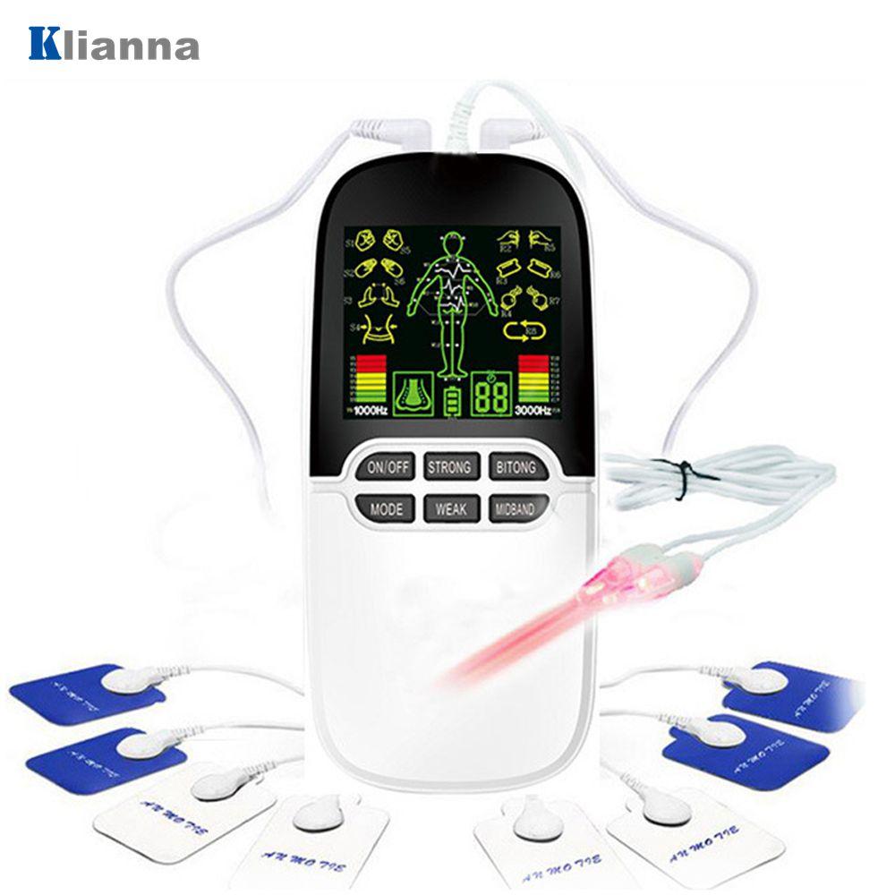 Купить устройство для массажа тела 2 в 1 цифровой электронный импульсный