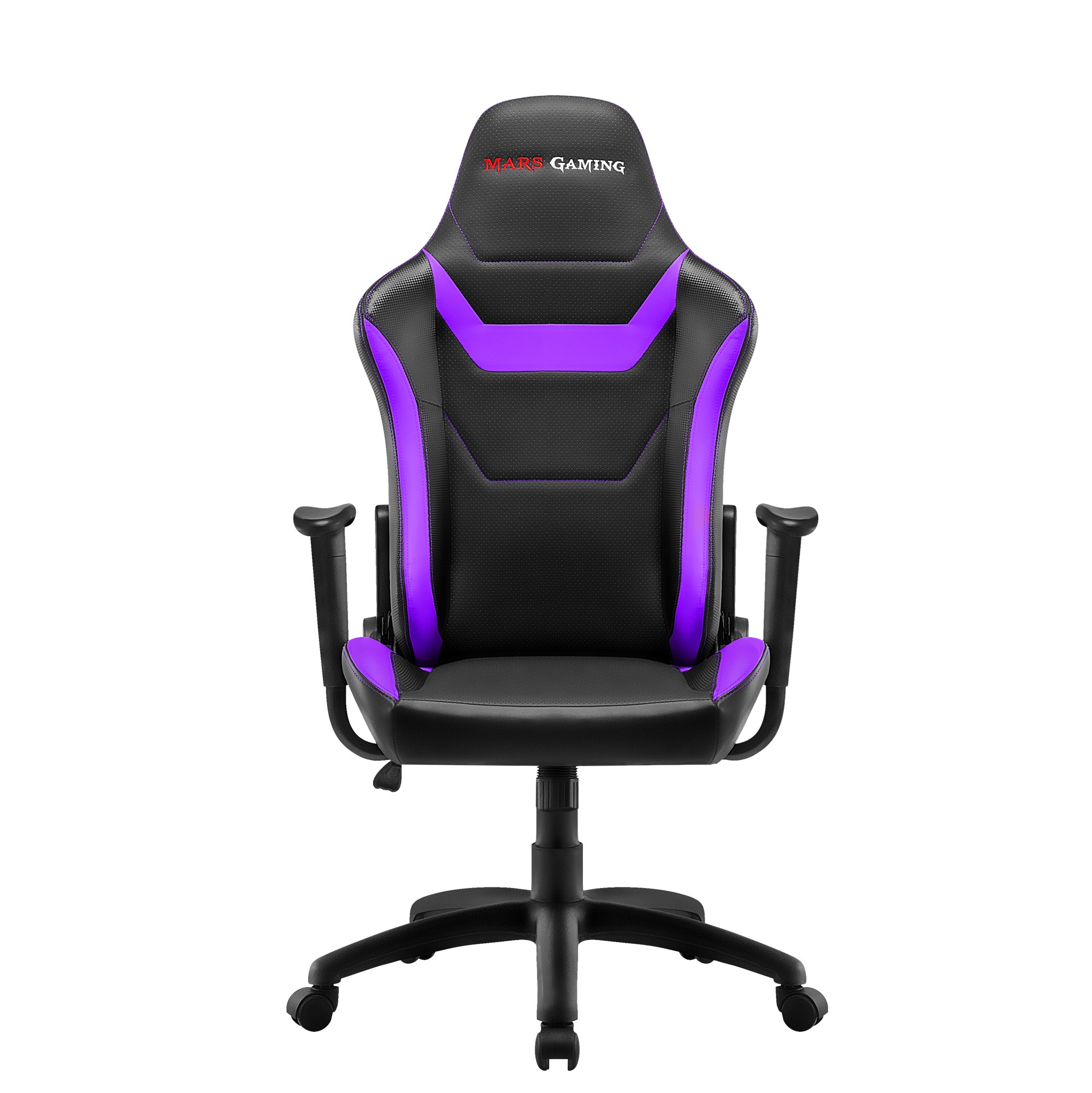 Mars Gaming MGC218, Chair Gaming Proffesional, Technology AIR, Recliner 180 °, Purple