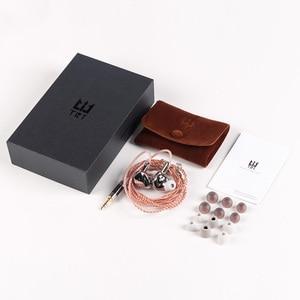 Image 5 - TRI I3 diaphragme plat + Composite 8MM pilote dynamique + Armature équilibrée pilote hybride dans loreille écouteur HIFI DJ métal écouteurs