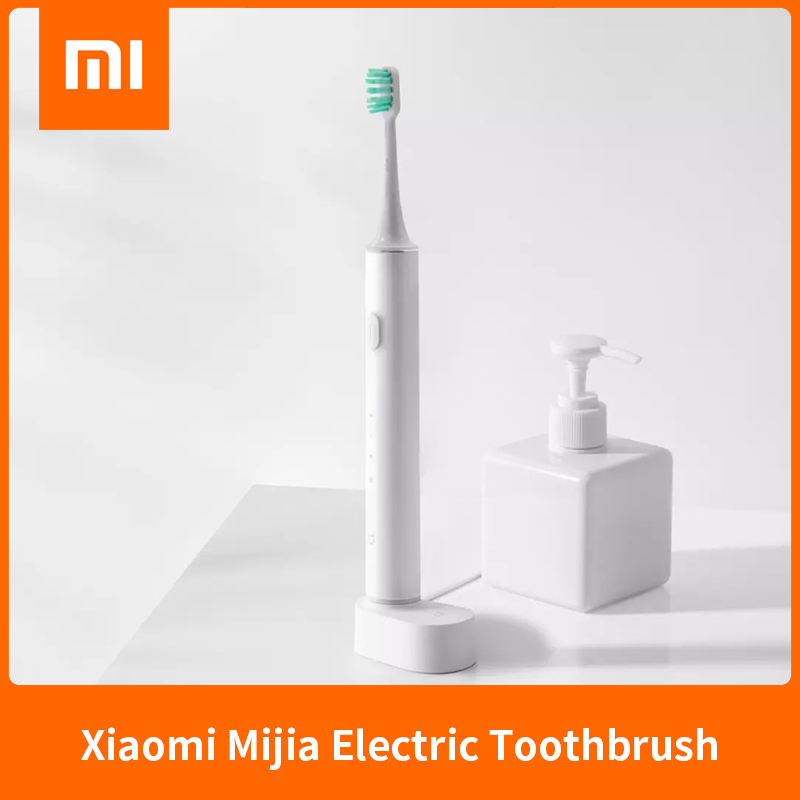 New XIAOMI MIJIA T500 Electric Toothbrush Smart Sonic Brush Ultrasonic Whitening Teeth Vibrator Wireless Oral Hygiene Cleaner