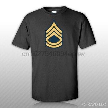 E-7 Sergeant First Class Insignia T-Shirt Tee Shirt Free Sticker us army