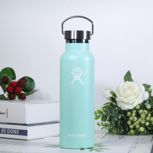 Hydro Flask Water Bottle with Stainless Steel Cap