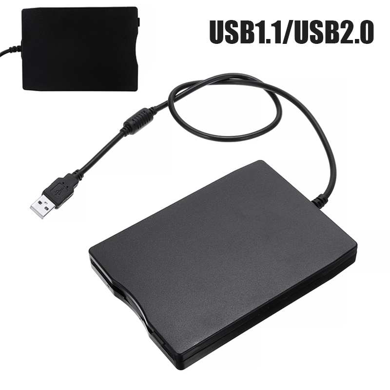 PC Laptop USB/FDD External Floppy Disk Drive 1.44MB 2HD 3.5inch For Data Storage Reading Writing Driving