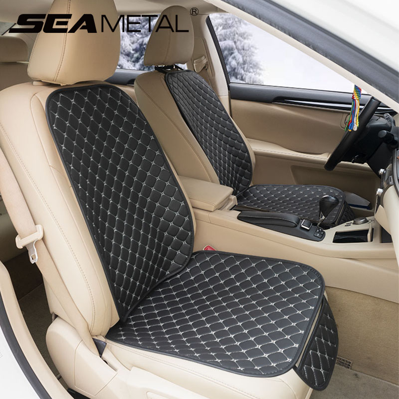 2 BLACK FRONT VEST CAR SEAT COVERS PROTECTORS FOR SEAT IBIZA