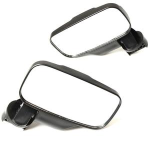 """Image 4 - Utv espelho retrovisor espelho lateral com 1.75 """"/2"""" barra de rolo gaiola apto para polaris ranger e rzr 4 e xp 4 barras transversais superiores 2"""""""