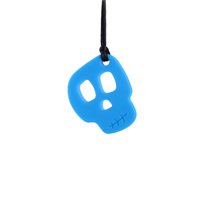 Autistic Baby Silicone Teether Sensory Chewing Pendant Necklace Teething Toy AXYA