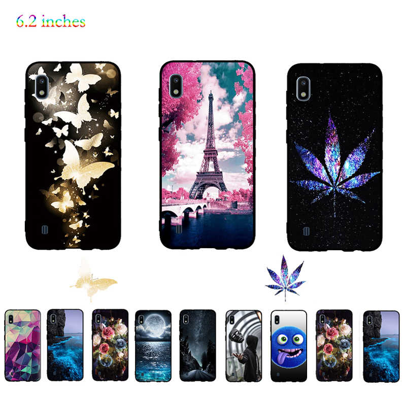 Luxury Case Cover For Samsung Galaxy A10 Cover Soft TPU Silicone Fundas Coque Capas For Samsung Galaxy A10 Case Shell Bumper