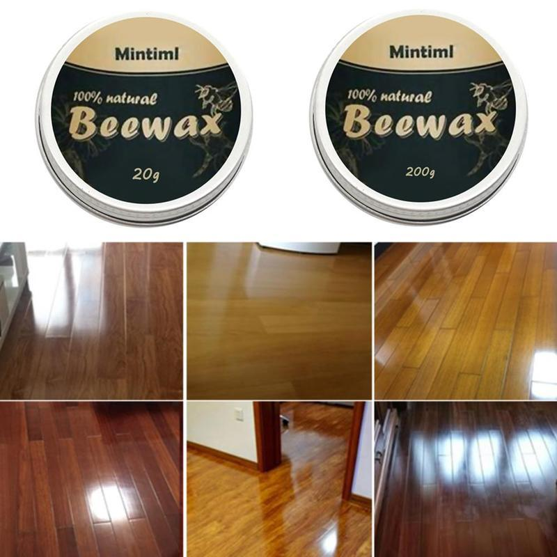 Natural Pure Furniture Care Beeswax For Wood Polishing Bamboo