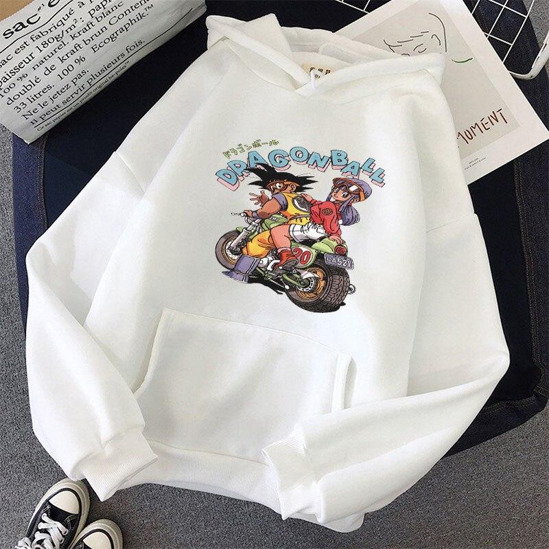 Japanese Anime Printed Hoodies 2021 Spring Autumn Long Sleeve Hoodie Women Cartoon Graphic Streetwear Sweatshirts Female Tops 26