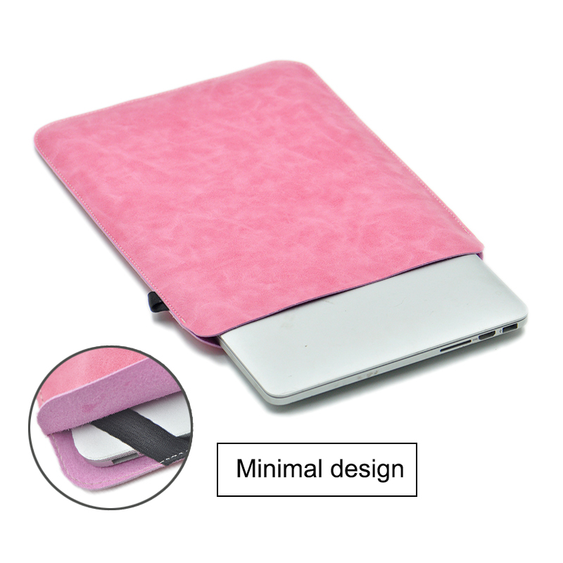 "Mouse Pad <font><b>Pouch</b></font> <font><b>NoteBook</b></font> Case For HP X360 13 MacBook Air 12 13 Cover Retina Pro 13.3 15.4 <font><b>15.6</b></font> 16"" Laptop Sleeve Leather Bag image"