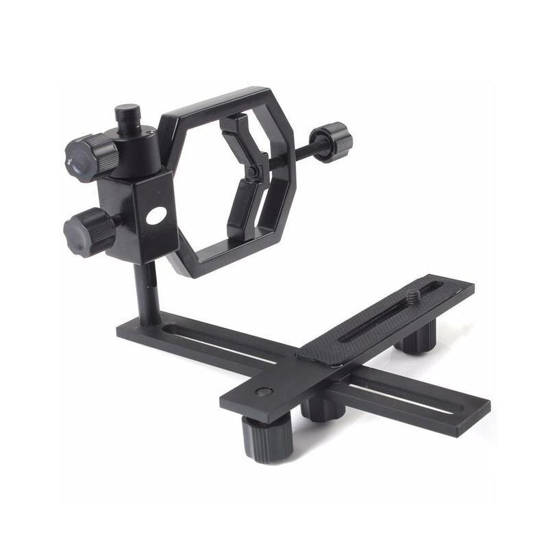 Metal Telescope Connect Cell Phone Bracket Adapter Mount For Binocular Monocular Microscope Spotting Scope 24-48mm Eyepiece