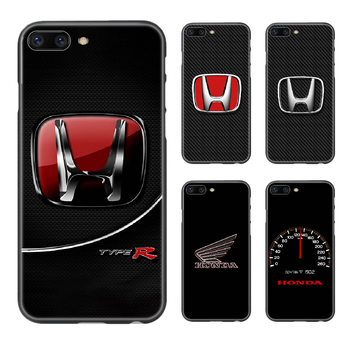 Honda car logo luxury Phone Case Cover Hull For iphone 5 5s se 2 6 6s 7 8 plus X XS XR 11 PRO MAX black shell trend cover tpu image