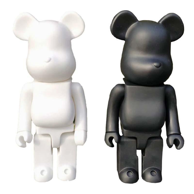 Bear 400/% Building Blocks Bear PVC Action Figure Toys Decoration Models